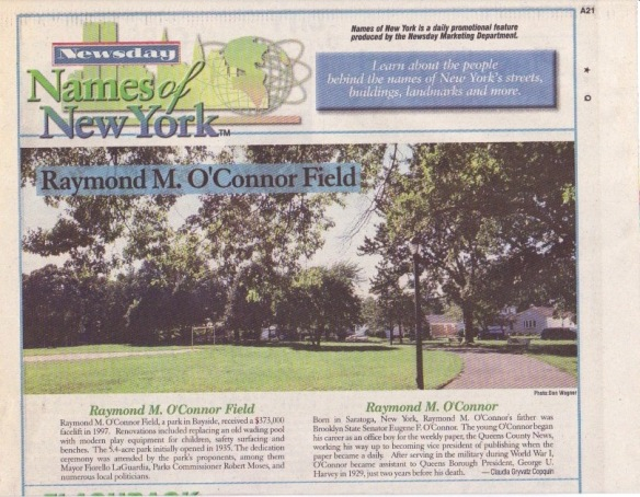 Raymond M. O'Connor Field